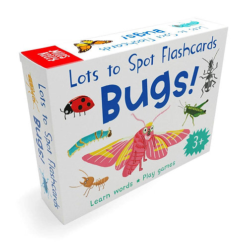 Lots to Spot Flashcards - Bugs!
