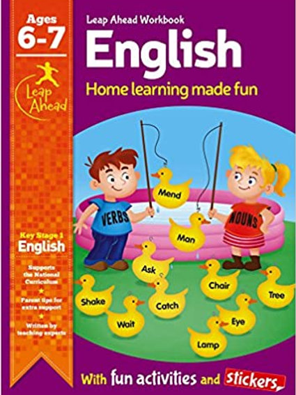 English Leap Ahead Workbook Ages 6-7