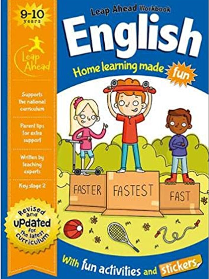English Leap Ahead Workbook Ages 9-10
