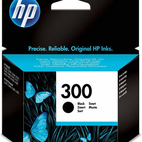 Cartridge Black HP 300 Standard