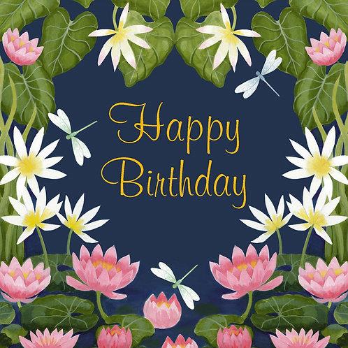 Birthday Card - Lily