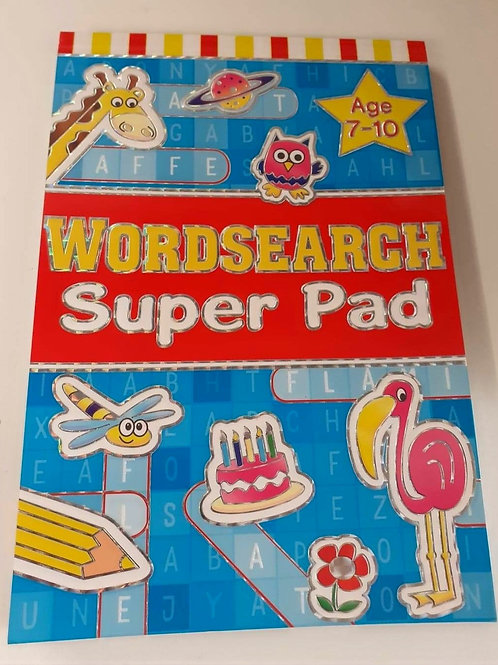 Word Search Super Pad (Age 7-10)