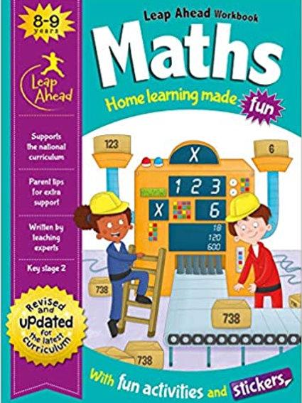 Maths Leap Ahead Workbook Ages 8-9