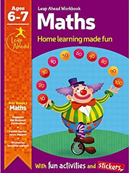 Maths Leap Ahead Workbook Ages 6-7