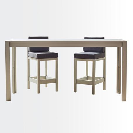 Calafate bar table • aluminium surface