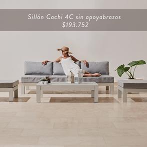 Sillón Cachi 4C sin apoyabrazos • $193.752