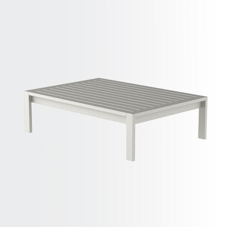 Iruya coffee table • aluminium surface