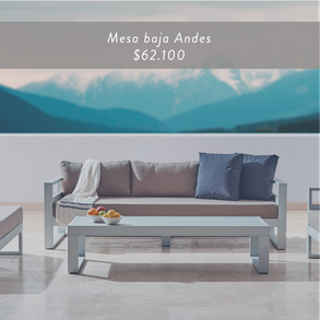 Mesa baja Andes • $65.412