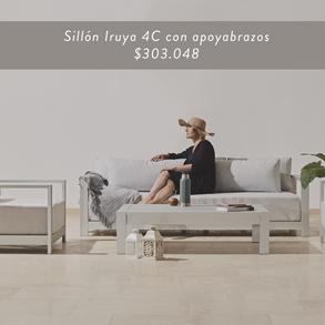 Sillón Iruya 4 cuerpos • $303.048