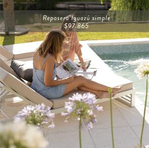 Reposera Iguazú simple • $97.865