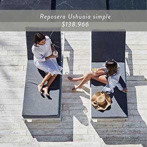 Reposera Ushuaia simple •$138.966