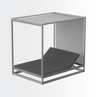 Ushuaia chaise lounge canopy •
