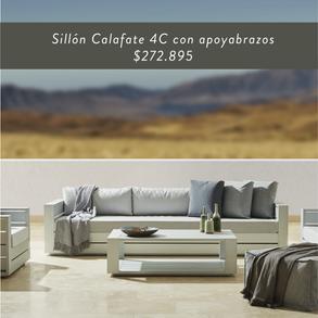 Sillón Calafate 4C con apoyabrazos • $272.895