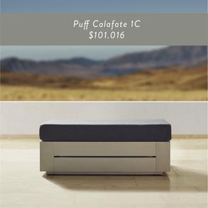 Puff Calafate 1 cuerpo • $101.016
