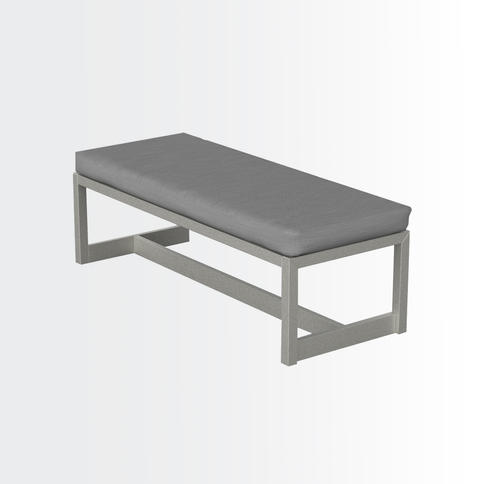 Andes backles dinning bench •
