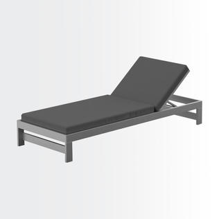 Andes chaise lounge • single