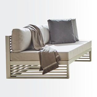 Iguazú armless sofa • 3 seat