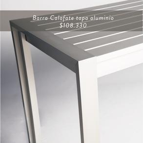 Barra Calafate tapa aluminio • $108.330