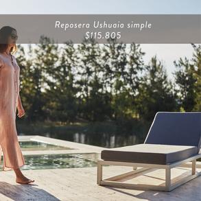 Reposera Ushuaia simple • $115.805