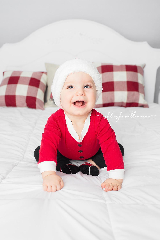 Holiday Mini, baby Santa