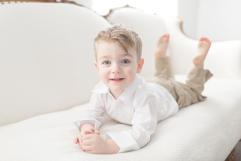 toddler boy blue eyes