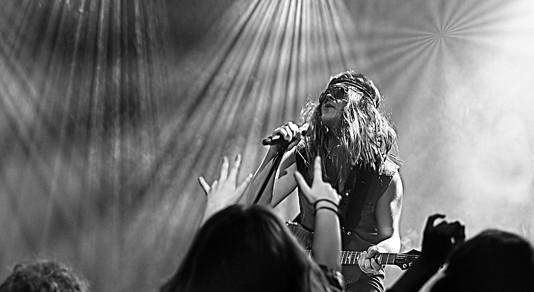 Foto fra koncert