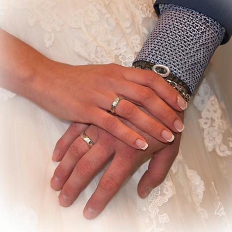 Bryllup hænder