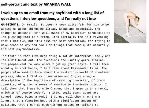 SELF INTERVIEW