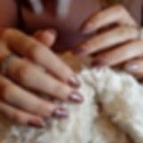 Acryl nagelverlenging nail art
