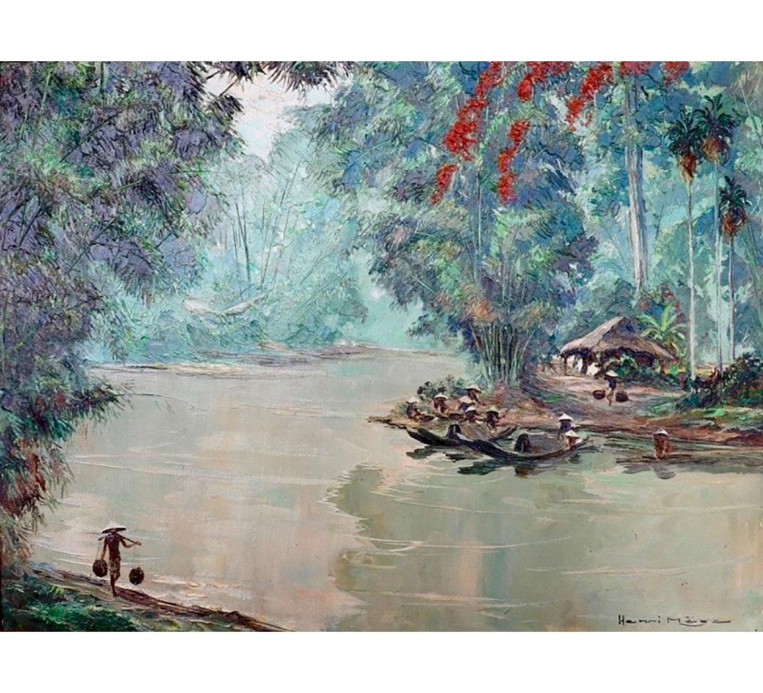 paysage-de-rivire-des-environs-de-hu-a