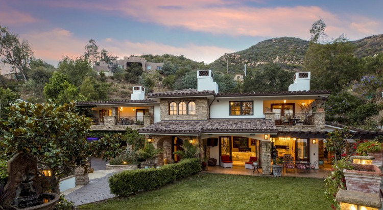 JUST LISTED: 330 East Mountain Drive  Montecito Villa Inspired by the Italian Countryside