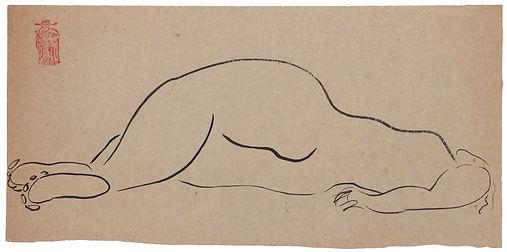 SANYU, encre sur papier, vers 1920.jpg