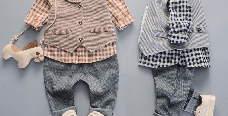 Fashion Baby Boys Kids Blazers Suit