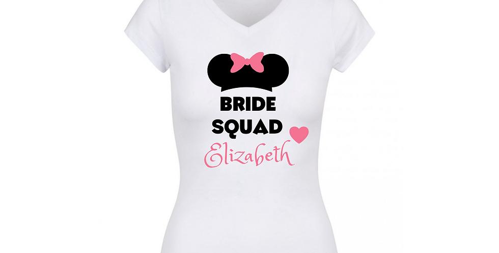 Personalised Bride Squad Tee