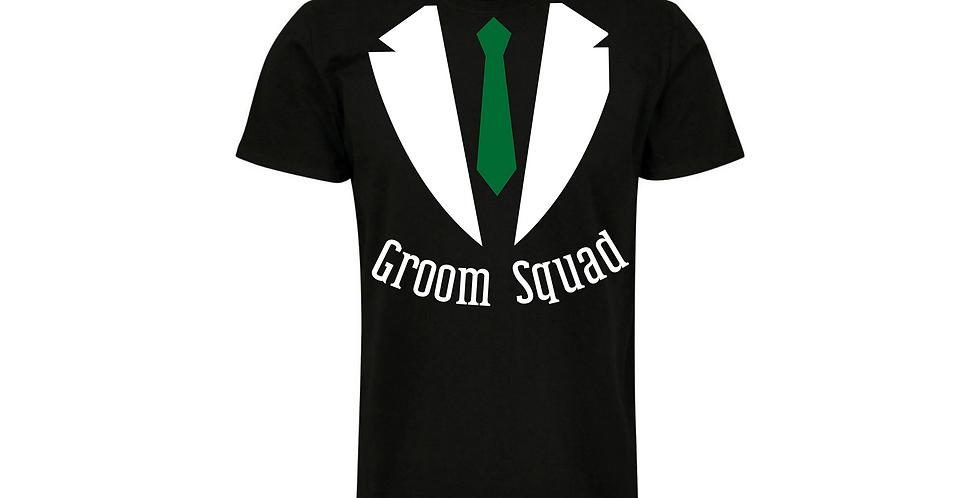 Groom Squad Wedding Party Shirt