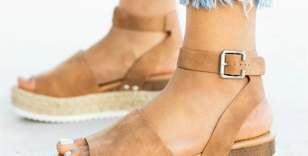 Sandals Plus Size Wedges Shoes  Platform