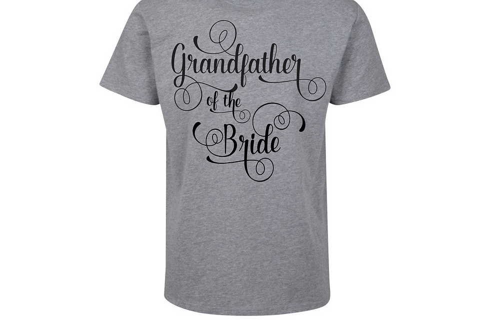 Grandfather Of The Bride Shirt
