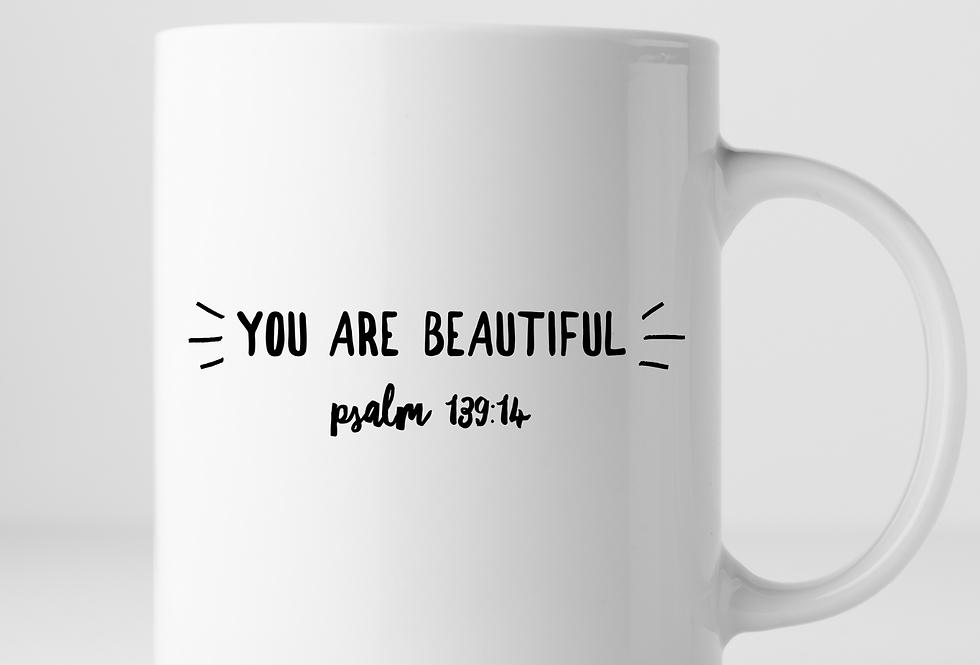 You Are Beautiful Mug