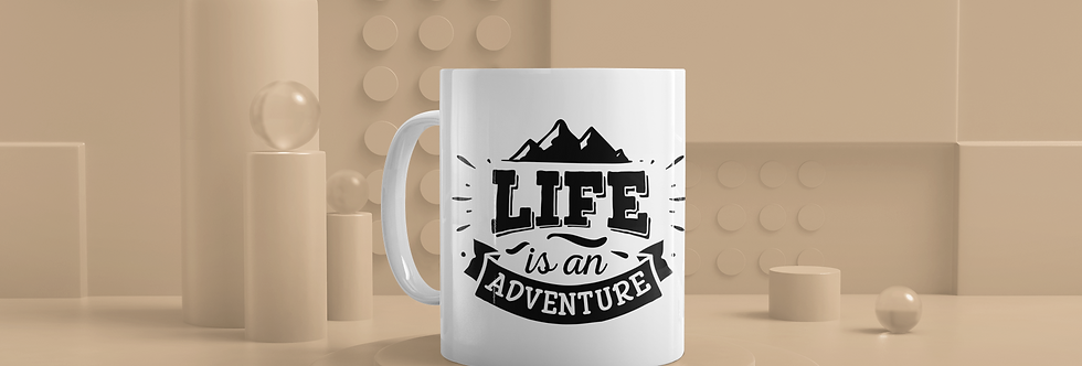 Life Is An Adventure 11oz Mug