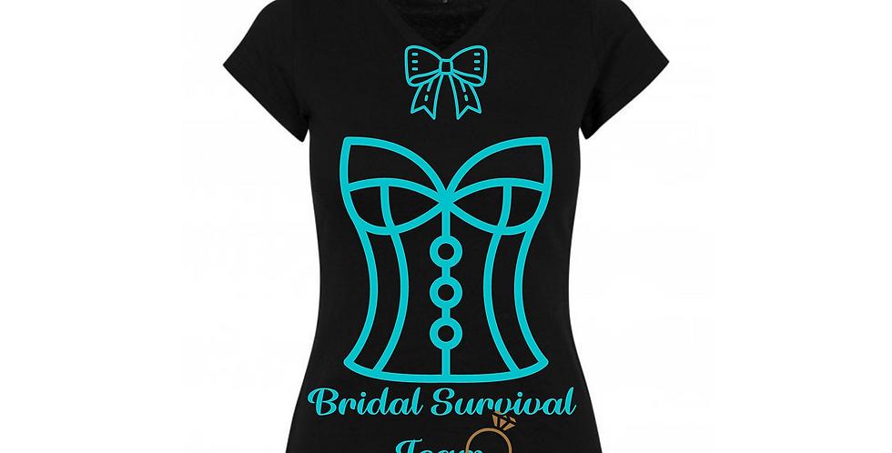 Bridal Survival Team Custom T-Shirt