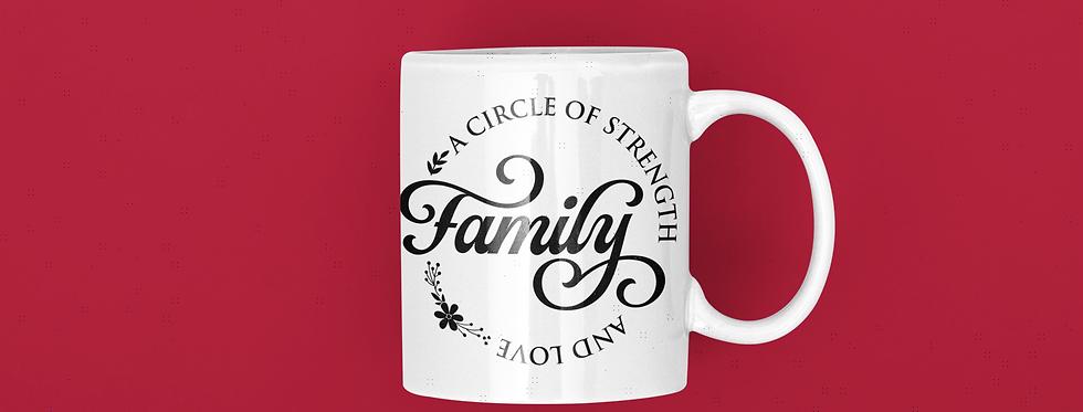 A Circle Of Strength Family 11oz Mug