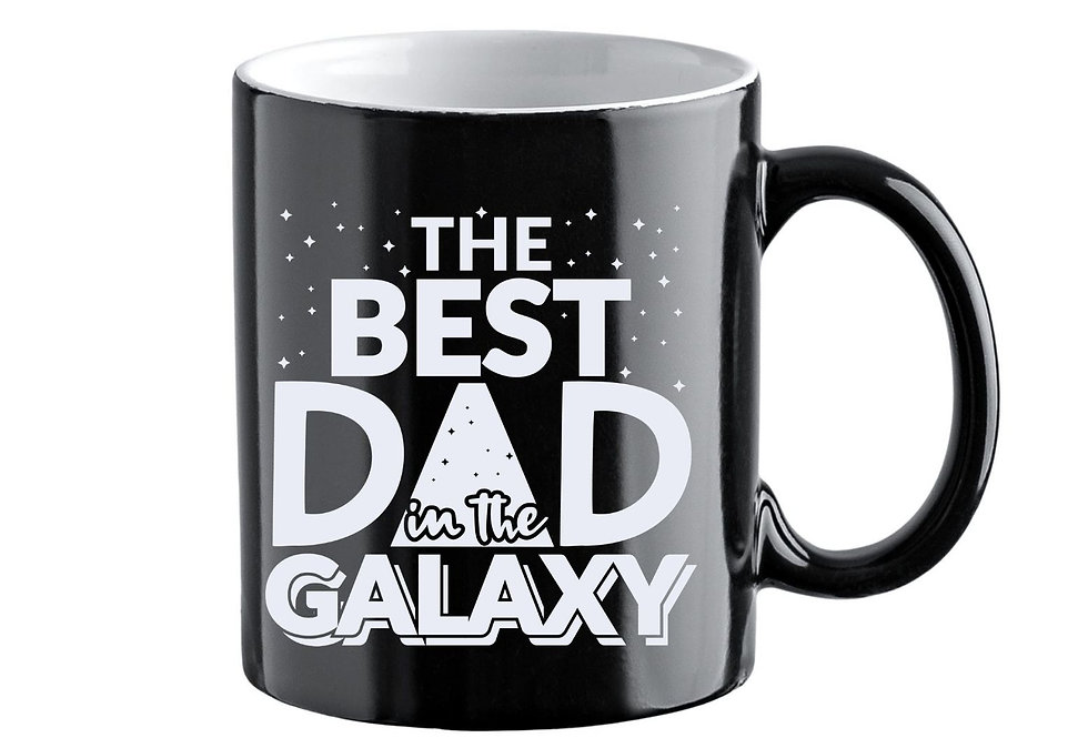Best Dad In The Galaxy 11oz Colour Changing Mug