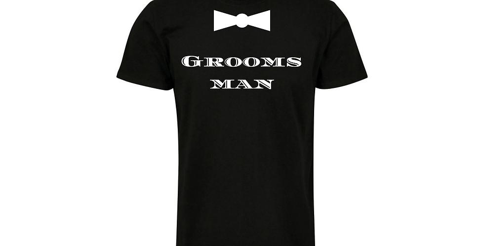 Groomsman Custom Wedding T-Shirt
