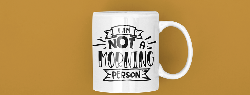 I Am Not A Morning Person 11oz Mug