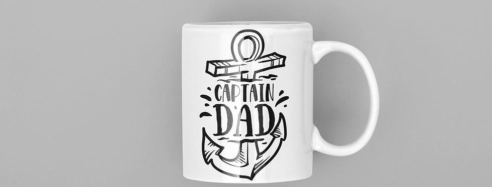 Captain Dad 11oz Mug