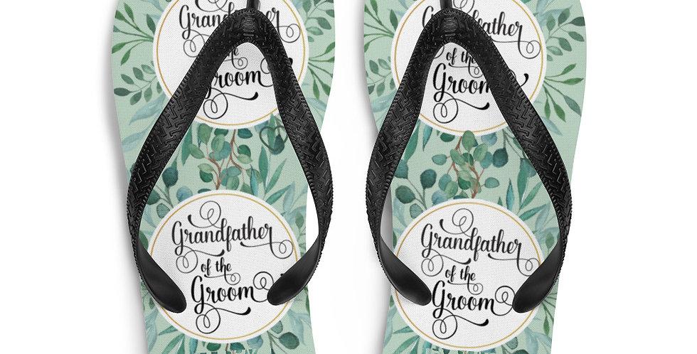 Wedding Flip-Flops Grandmother Of The Groom
