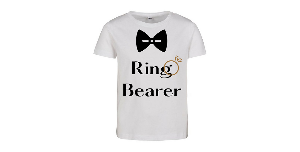 Ring Bearer Wedding Party Shirt