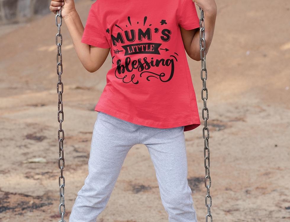 Mum's Little Blessing T-Shirt