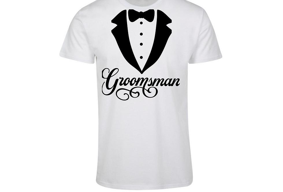 Groomsman Wedding Party T-Shirt