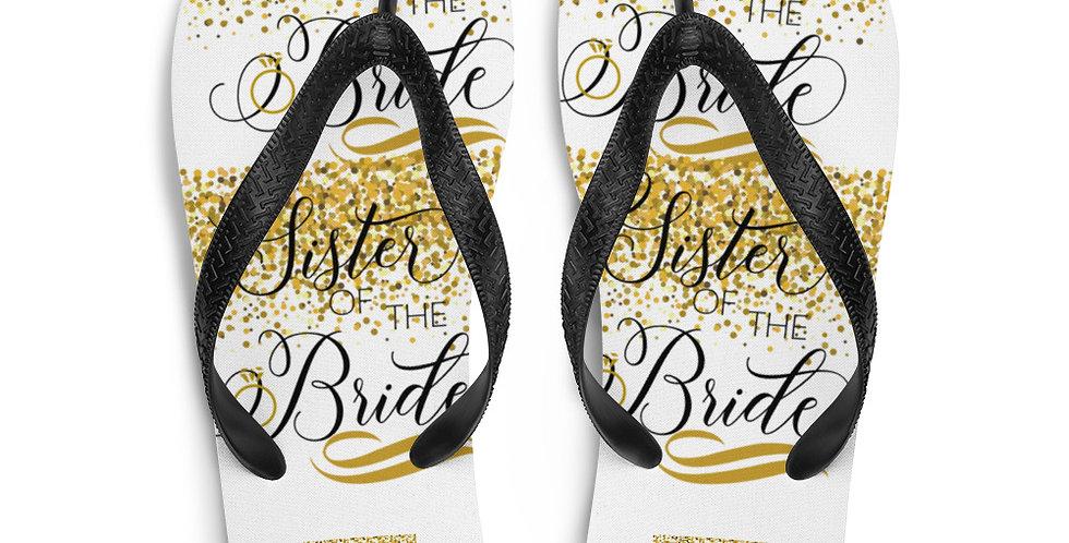 Wedding Flip-Flops Sister Of The Bride